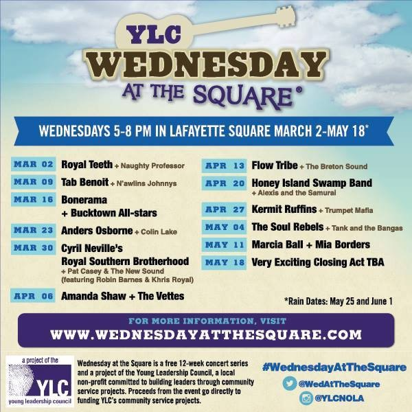YLC Wednesday at the Square – April 29